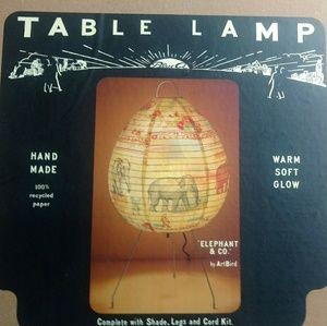 BlueQ table lamp.